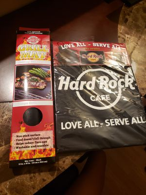 bbq apron and grill mat for Sale in St. Petersburg, FL