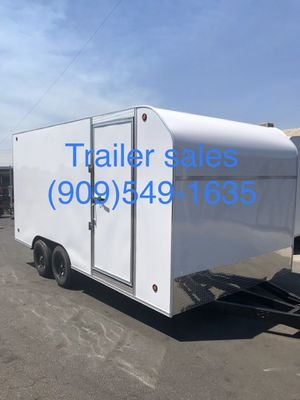New 8.5x16x7 enclosed trailer for Sale in Rancho Cucamonga, CA