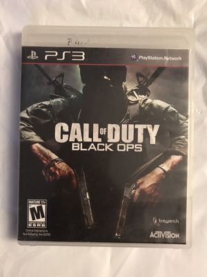 PS 3 Call of Duty Black OPS Game for Sale in Colton, CA