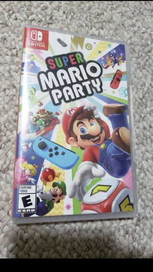 Nintendo Switch Game Super Mario Party for Sale in Pittsburg, CA