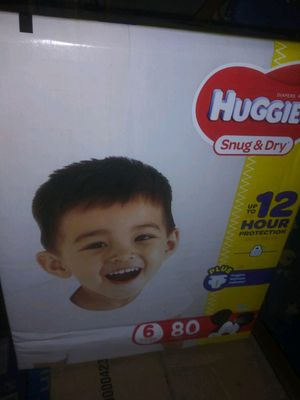 Huggies brand new size 6 for Sale in San Diego, CA