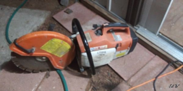 Stihl 14 inch concrete cut off saw