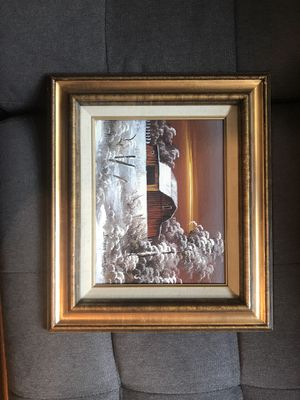 Everrtt Woodson painting for Sale in Raleigh, NC
