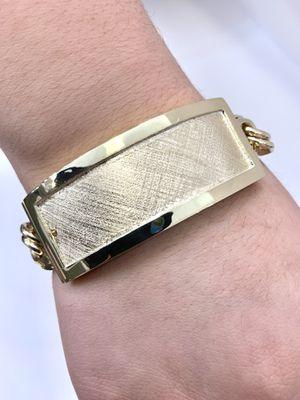 10 karat gold chino link bracelet custom handmade (# MMCH02) for Sale in Houston, TX