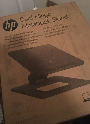 HP dual hinge notebook/ laptop stand for Sale in Jacksonville, FL