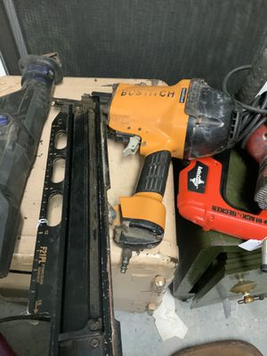 Bostitch nail gun for Sale in Rehoboth, MA
