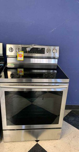 BRAND NEW SAMSUNG NE59N6630SG ELECTRIC STOVE BE for Sale in Los Angeles, CA