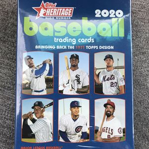 2020 Topps Heritage High Number Hanger Box for Sale in Ontario, CA