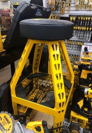 DeWalt Adjustable Shop Stool for Sale in Magnolia, TX