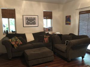 Sofa, chair & 1/2 and ottoman for Sale in Palmetto Bay, FL
