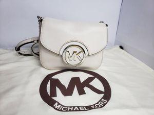 Authentic Michael Kors Fulton MK Flap Shoulder Bag SM Crossbody Leather PRICE FIRM 🚫 for Sale in San Antonio, TX