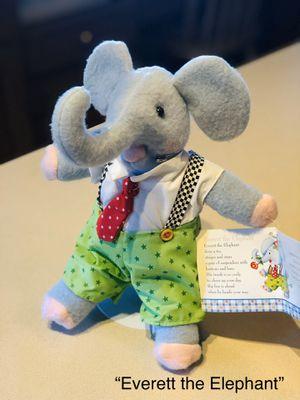 Mary Engelbreit Everett the Elephant plush collectible toy for Sale in Phoenix, AZ