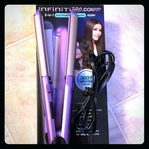 Infiniti Pro 2-in-1 Tourmaline Ceramic Styler for Sale in Perris, CA