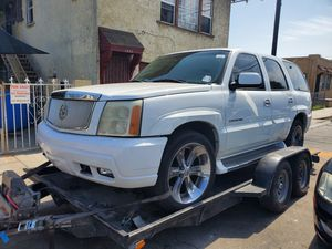 2002 Cadillac Escalade parting out for Sale in Los Angeles, CA