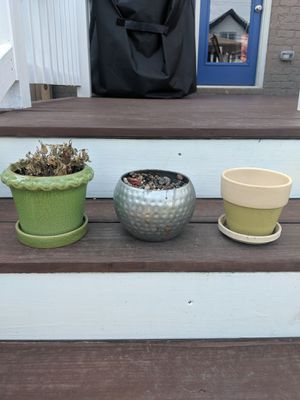 Flower pots, $5 each for Sale in Nashville, TN