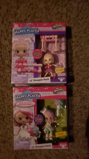 Shopkins Happy Places Dolls Brand new for Sale in Newberg, OR