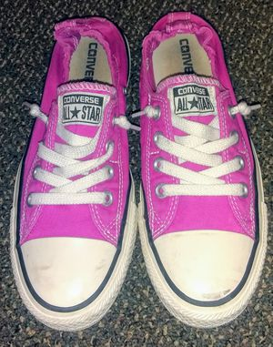 Women's Converse size 7 slip on's for Sale in Portland, OR
