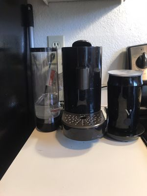 Verismo Coffee Maker + Milk Frother for Sale in Kennewick, WA