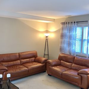 Leather Living Room Set for Sale in Morrisville, PA