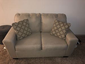 Tan love seat and sofa set for Sale in Lexington, KY