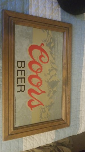 1988 VINTAGE COORS BEER SIGN FACTORY MADE for Sale in Fairfax, VA