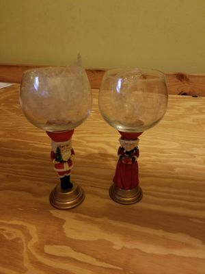 Christmas goblets for Sale in West Hollywood, CA