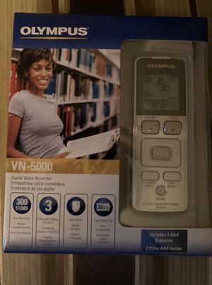 Olympus VN-5000 Digital voice recorder NEW! for Sale in Chicago, IL
