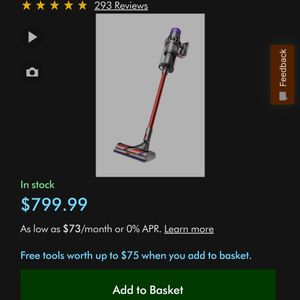 Dyson V11 OutSize for Sale in San Jose, CA