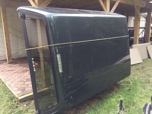 Army green truck camper 6ft for Sale in Greenbelt, MD