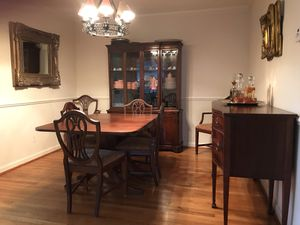 Mahogany dining room set for Sale in Bethesda, MD