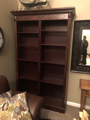 Cherry wood bookshelves for Sale in Duvall, WA