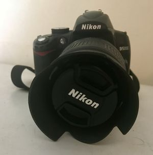 Nikon D5000 Camera with Lenses and Case - Best OFFER TODAY BY 4PM EST And it's yours!!!!! -*Needs Sold ASAP - Make Me A Reasonable Offer* for Sale in Salisbury, NC