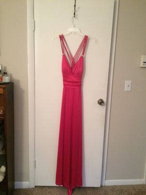 Size 13/14 hot pink prom dress for Sale in Middletown, CT
