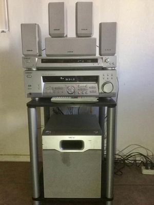 Sony Complete Home Theater/Stereo System w/ Bluetooth adapter & remote,,, $100 only for Sale in Phoenix, AZ