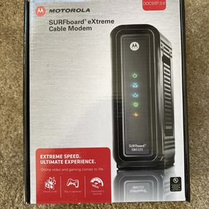 MOTOROLA SURFboard eXtreme Cable Modem SB6121 for Sale in Marina del Rey, CA