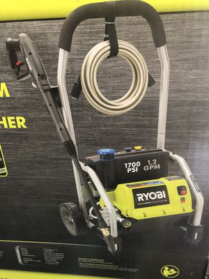 🇺🇸💥 RYOBI 1,700 PSI 1.2 GPM Electric Pressure Washer for Sale in Los Angeles, CA