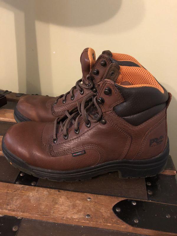 Men's Timberland work boots