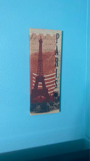 Paris Canvas Decoration for Sale in Miami, FL