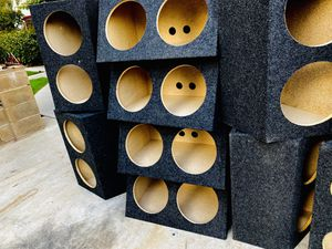 $30 each Dual 10 and 12 sub boxes for Sale in Sanger, CA