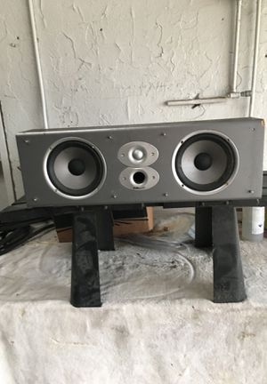 Polk Audio center channel speaker for Sale in Westlake, OH