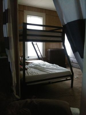 Bunk bed twin over full for Sale in Painesville, OH