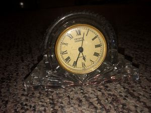 Vintage Antique Crystal Legends Clock Watch for Sale in Plainfield, IL