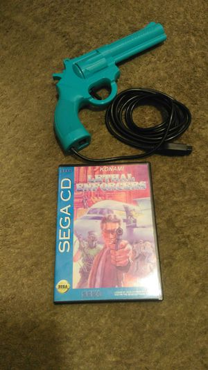 Lethal enforcers comes with gun works good for Sale in Garden Grove, CA