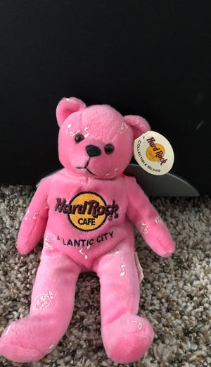 Hard Rock Cafe Atlantic City beanie baby 2002 for Sale in East Point, GA