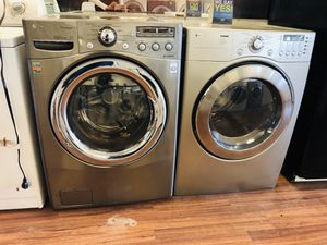 Lg washer and gas dryer for Sale in Pleasant Grove, UT