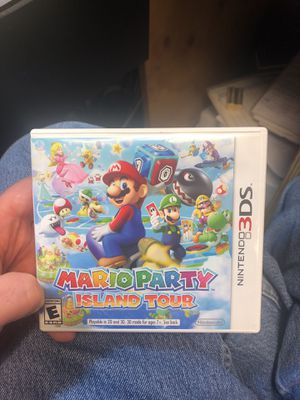 Mario Party Island Tour 3ds for Sale in Providence, RI