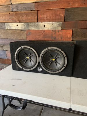 2 10 inch Kicker Comps for Sale in Mesa, AZ