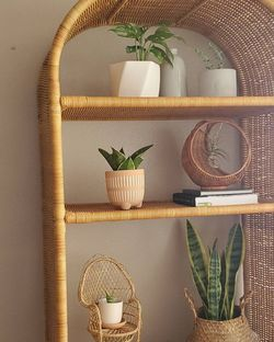 Natural Wicker Shelf for Sale in Yorba Linda,  CA