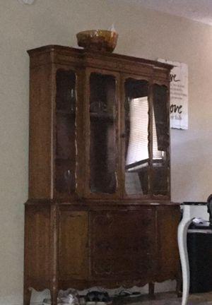 Antique China cabinet for Sale in Dallas, GA