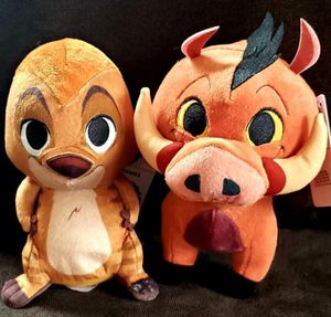 Funko Disney THE LION KING PLUSHIES Collectible Plush PUMBAA and TIMON for Sale in San Diego, CA